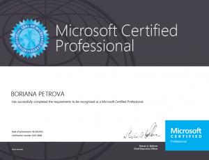 Microsoft Certified Professiona