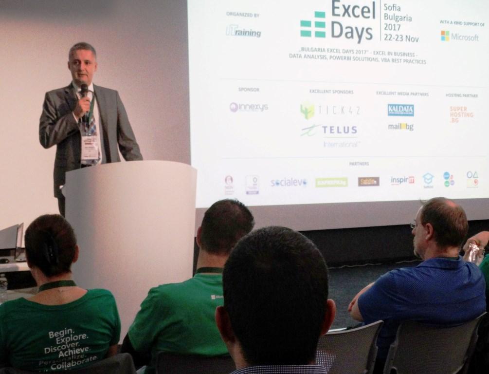 Excel Days Microsoft