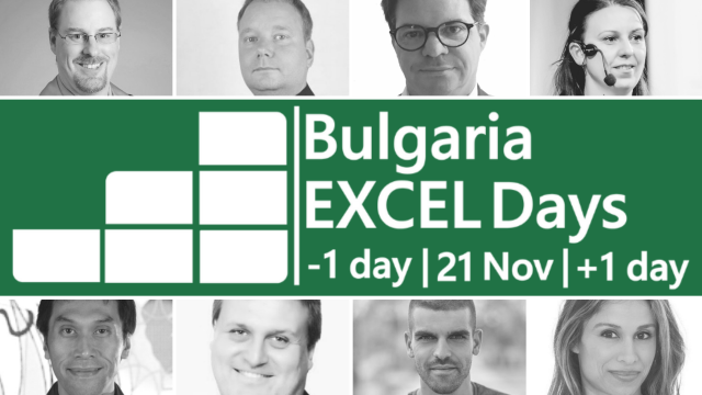 bulgaria excel days 2019